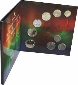 Letzter Kursmünzensatz Litauen 2014