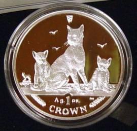 Briefmarken Münzen Am Dom Isle Of Man Katzen