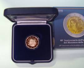 Briefmarken Münzen Am Dom Sonderprägung 2 2 Italien