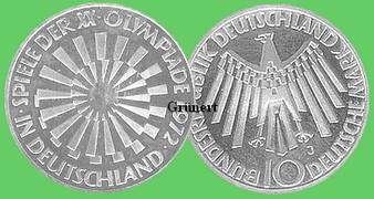 10 Dm Olympiade Strahlenspirale Deutschland