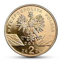 Polen 2 Zloty 2014 Tiere Der Welt Polnisches Konik Pferd 2014