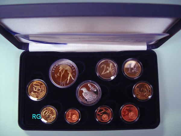 Briefmarken Münzen Am Dom Finnland Offizieller Kms 2005 888
