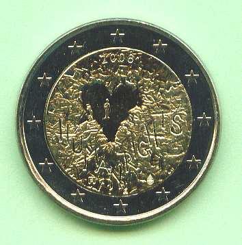 Briefmarken Münzen Am Dom 2 Euro Finnland 2008 60