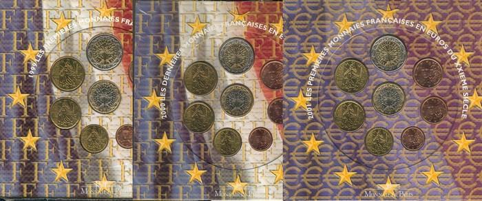 Frankreich Kms 1999 2000 2001 Stgl
