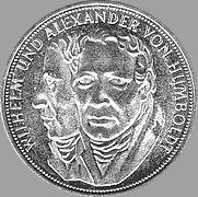 5 Dm 1967 Gebrüder Humboldt