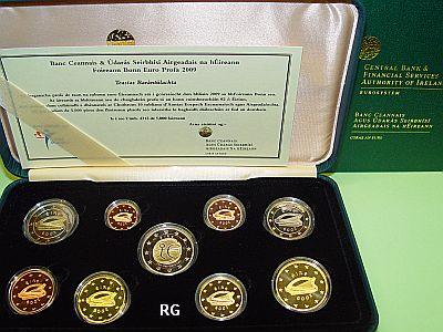 Briefmarken Münzen Am Dom Irland Offizieller Kms 2009 Pp