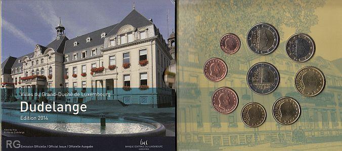 Briefmarken Münzen Am Dom Luxemburg Kms 2014 Dudelange