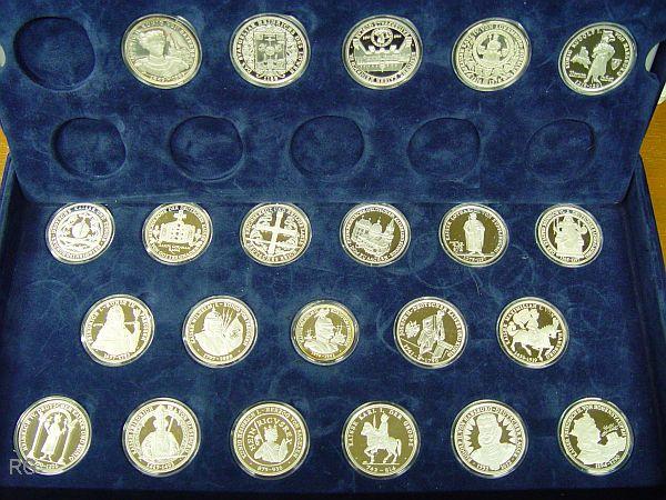Briefmarken Münzen Am Dom Medaillen Serie Zu Deutschen Kaisern