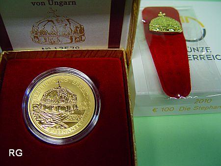 österreich 100 2010 Kronen Der Habsburger Die Stephanskrone