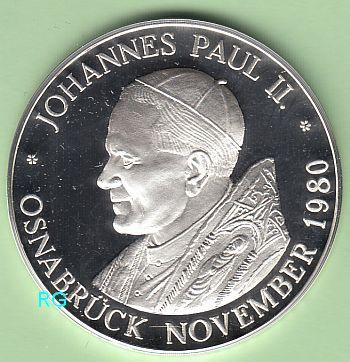 Briefmarken Münzen Am Dom Gedenkmedaille Papst Johannes