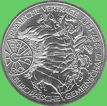 10 Dm 1987 Römische Verträge