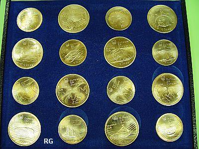Kanada Olympiade Montréal 1976 925er Silber Komplette Serie