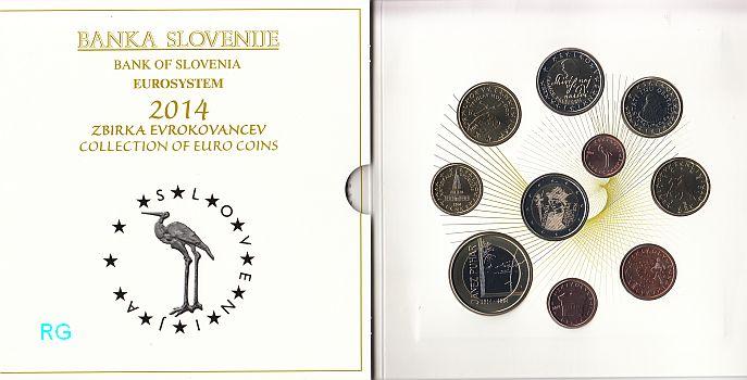 Briefmarken Münzen Am Dom Slowenien Kms 2014 Inkl 3