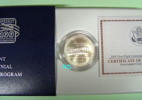 Briefmarken Münzen Am Dom Usa 12 2003 100 Jahre Flug