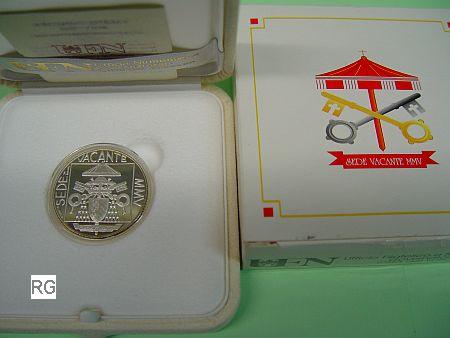 Vatikan 5 2005 Sede Vacante Sedisvakanz