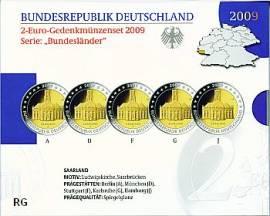 2 Euro Deutschland 2009 Ludwigskirche Saarbrücken - Blister PP - - Bild vergrößern