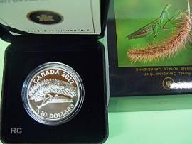 Kanada 10 $ 2012 - Gottesanbeterin / Photowettbewerb - Proof - Bild vergrößern