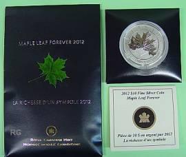 Kanada 10 $ 2012 - Maple Leaf forever - BU - Bild vergrößern