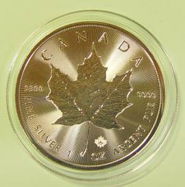 Kanada 5 $ Maple Leaf 2021 bfr. - Bild vergrößern