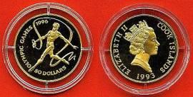 Cook Islands 50 $ 1993 - Bild vergrößern