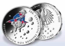 Deutschland 20 Euro Münchhausen 2020 PP - Bild vergrößern