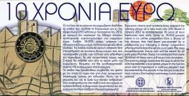 2 €  Griechenland 2012 - 10 Jahre Euro Bargeld - Blister - Bild vergrößern