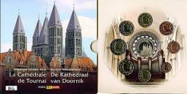 Belgien Kursmünzsatz 2009 - Kathedrale von Tourn - stgl. - Bild vergrößern