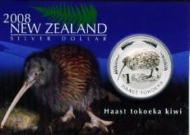 Neuseeland 1 Dollar Kiwi 2008 stgl. im Blister - Bild vergrößern