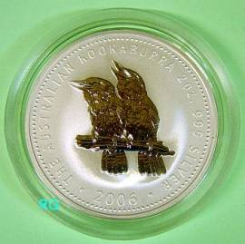 Australien 2 $ Kookaburra 2006 2 oz - Bild vergrößern