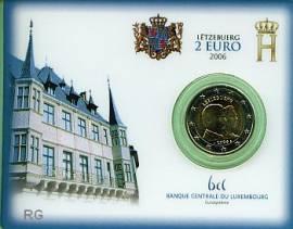 2 Euro Luxemburg 2006 Großherzog Guillaume (Blister) - Bild vergrößern