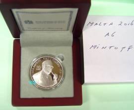 10 € Malta 2016 - Dom Mintoff - PP - Bild vergrößern
