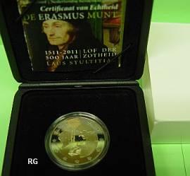 2 Euro Niederlande 2011 - Erasmus von Rotterdam - PP - Bild vergrößern