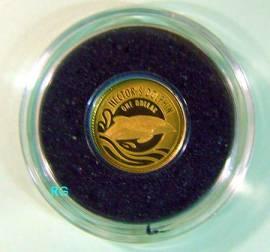 1 $ Neuseeland 2016 - Hector's Dolphin - Gold - Bild vergrößern