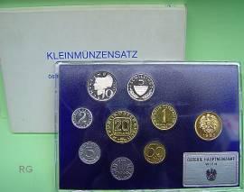 Österreich Kursmünzensatz 1985 PP - Bild vergrößern