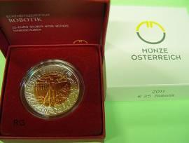 Österreich 25 € Niob 2011 - Robotik - - Bild vergrößern