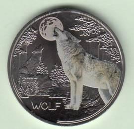 Österreich 3 € Tiertaler-Serie: Wolf 2017 - Bild vergrößern