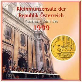 Österreich Kursmünzensatz 1999 stgl - Bild vergrößern