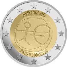2 Euro Niederlande 2009 - Wirtschafts- und Währungsunion - - Produktbild