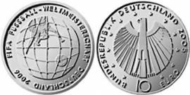 10 €  Deutschland 2005 - FIFA-Fußball-WM 2006 - A - bfr. - Bild vergrößern