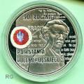 Polen 10 Zloty - 90 Jahre Großer Aufstand Polen - 2008 (teilcolouriert)