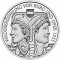 10 € Österreich 2005 - Wiedereröffnung von Burg und Oper 1955 - PP