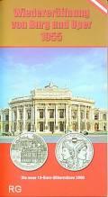 10 € Österreich 2005 - Wiedereröffnung von Burg und Oper 1955 - hg