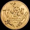 Polen 2 Zloty 2012: UEFA Fußball EM 2012
