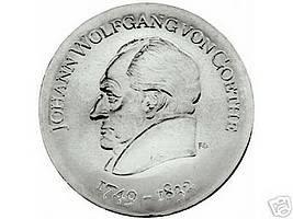 DDR 20 Mark 1969 - 220. Geburtstag Johann Wolfgang von Goethe - stgl.