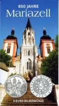 5 Euro  Österreich 2007 - 850 Jahre Mariazell - im Blister