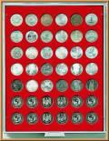 Lindner Münzbox für 5-Mark-Münzen (lose)