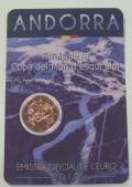 2 € Andorra 2019 - Finale Skiweltcup FIS - Coin Card