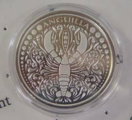 OECS Anguilla 2 $ Lobster / Hummer 2018 BU