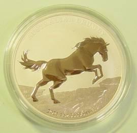 1 $ Australien 2021 Australian Brumby Pferd BU