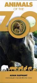 Zoo Serie: 1 $ Australien 2012 Elefant